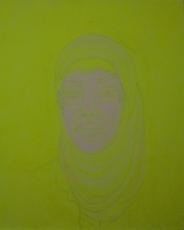 Women of Light, Onjali Rauf, 2016, acrylic on canvas