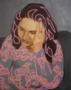 Mother! (2019) Acrylic on canvas.